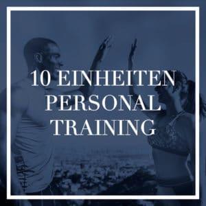 Personal Training – 10 Einheiten a 60 Minuten
