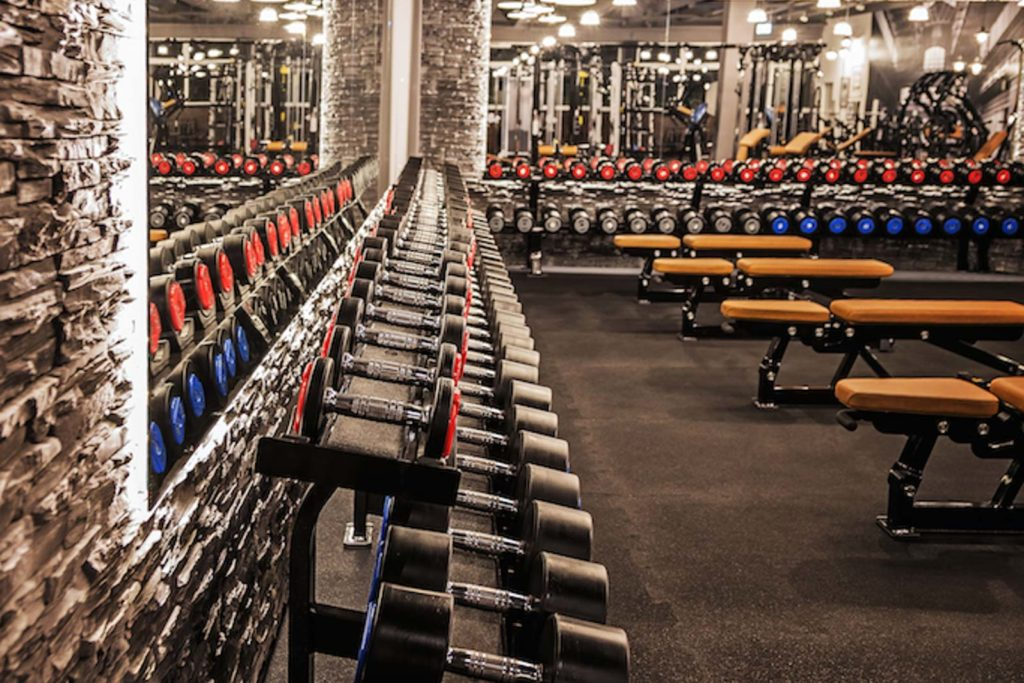 Fitnessstudio in Tammerfeld